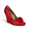 CAMILLE-01 Red Satin